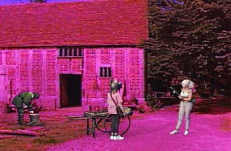 Knightmare Series 7 Team 6. Romahna approaches the dungeoneer in Grimdale.