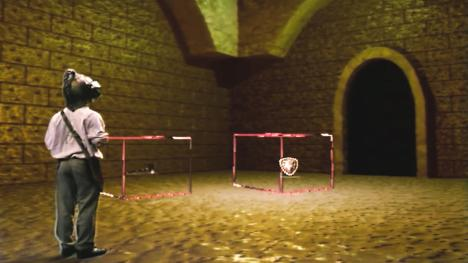 Series 7, end of series. Barry (team 7) finds two cubes containing the Shield and a troll hammer.
