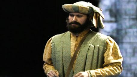 Honesty Bartram the trader, played by Bill Cashmore in Series 8 of Knightmare (1994).