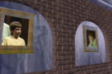 Knightmare Series 8 Team 6. Dunstan and the team's portraits are added to the Winners' Hall of Fame.