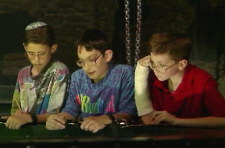 Knightmare Series 8 Team 2. The advisors: Benjamin, Gideon and Justin.