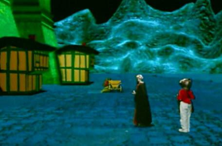 Knightmare Series 8 Team 2. Daniel encounters a crone in disguise on the docks of Marblehead.