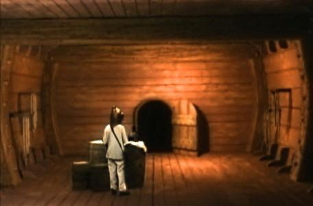 Knightmare Series 8 Team 3. Nathan finds clues in a cabin below decks on the ship.
