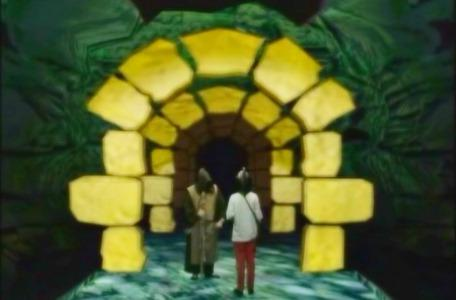 Knightmare Series 8 Team 5. Rebecca meets the mysterious Brother Strange in the tunnels.
